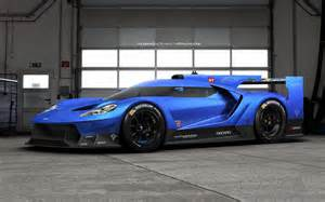 Future Fords Ford Gt Rendering Could Preview Future Le Mans Car