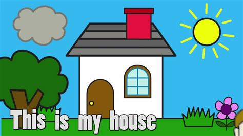 house clipart child drawing   cliparts