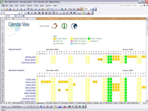 tao 2009 wall calendar ebook annual leave planner template