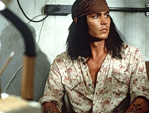 johnny depp tattoo the brave www cinemagumbo com journal the 43 faces of johnny depp