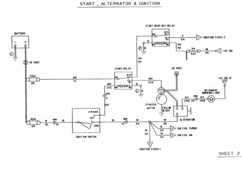starter alternator wiring diagram get free image about