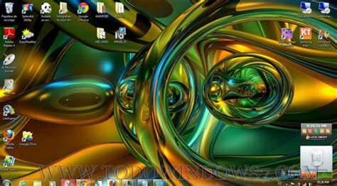 imagenes abstractas para windows 7 descarga el tema formas abstractas 3d para windows 7