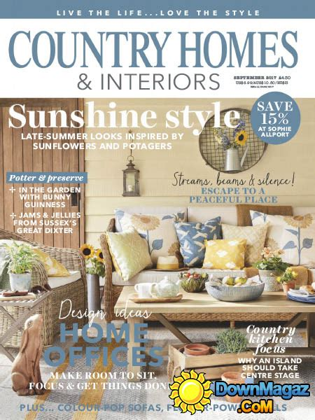 country home design magazines country homes interiors 09 2017 187 download pdf