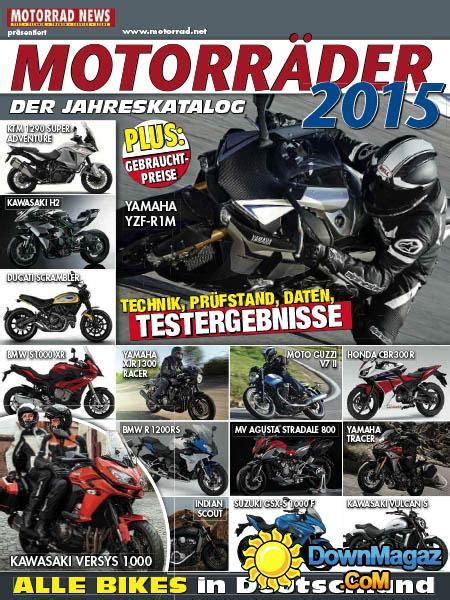 Motorrad News Jahreskatalog 2018 by Motorr 228 Der 2015 Der Jahreskatalog 187 Download Pdf