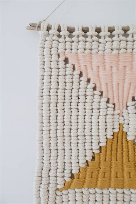 Macrame Weave - macram 233 weaving by sally via behance there are