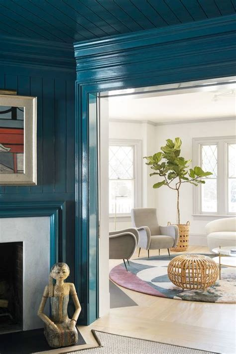 designers share    hallway colors colorful