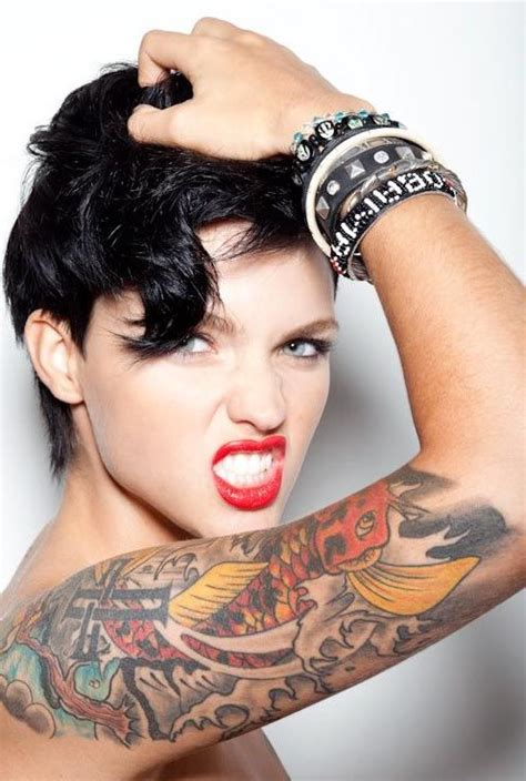 tattoo new model stunning ruby rose tattoos all you ever wanted to know