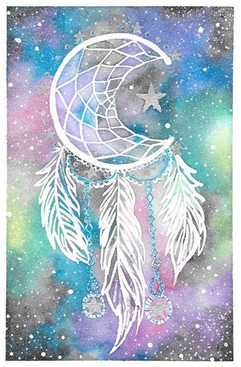 galaxy dream catcher tattoo best 25 watercolor dreamcatcher ideas on pinterest