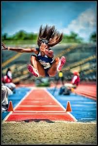 Track and Field Long Jump