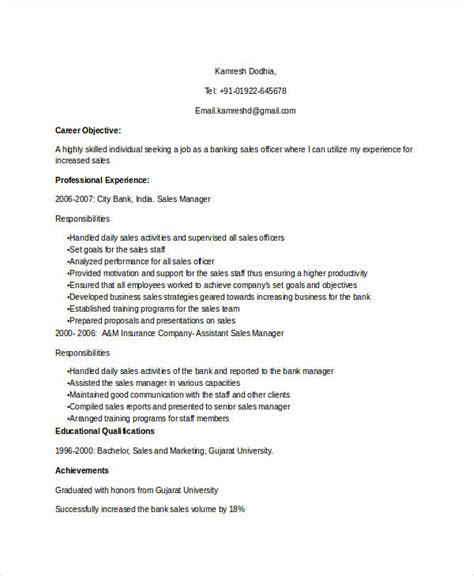 office resume sles 18 professional sales resume templates pdf doc free