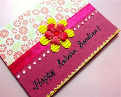 Handmade Greeting Cards For Raksha Bandhan - raksha bandhan