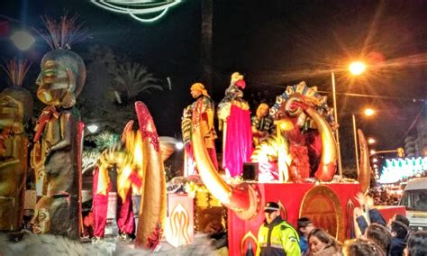panoramio photo of cabalgata de los reyes magos 2015 16