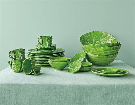 tory burch dinnerware see the dodie thayer lettuce leaf dinnerware collection