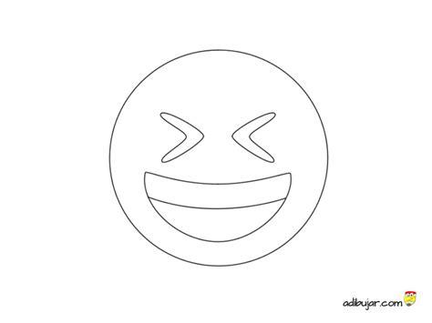imagenes de risa de amor para dibujar imagen para colorear emoji risa adibujar com