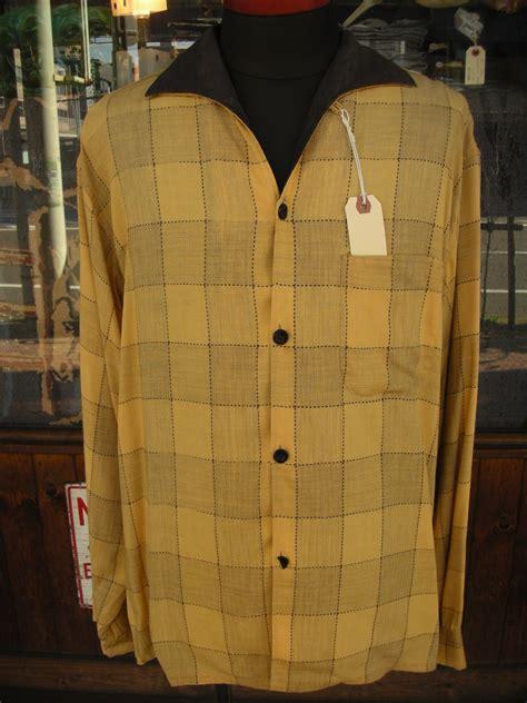 Embro Shirt B L F 1950 s truval 2tone italian collar shirt sz l アパレル 男性用