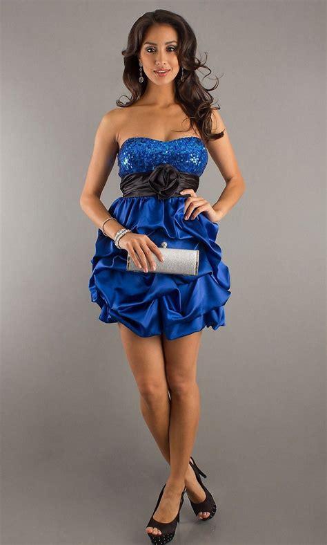 imagenes de cumpleaños elegantes vestidos de boda azules