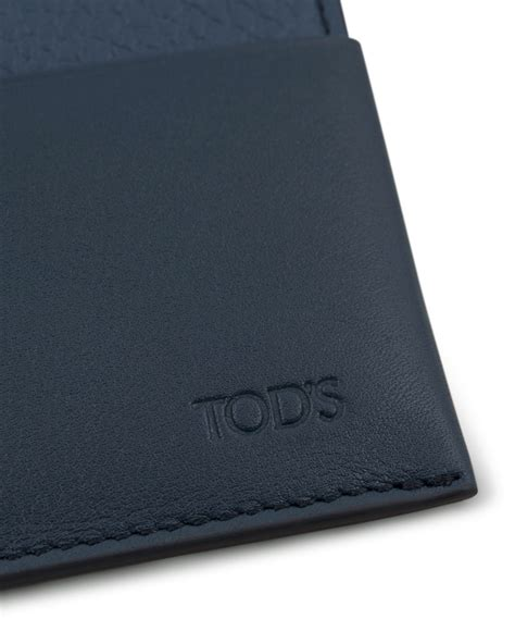 Origami Credit Card Holder - tod s origami credit card holder blue calf hos
