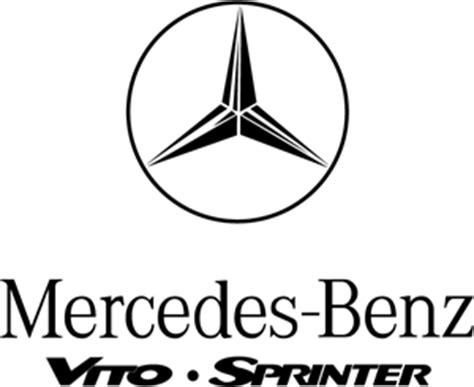 logo mercedes vector mercedes vito sprinter logo vector eps free