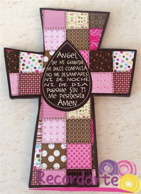 ideas para decorar cruces de madera para baurizo cruces de madera para recuerditos decoraci 243 n etc