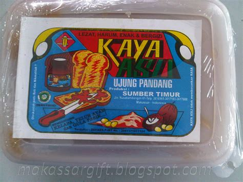 makassar s special gift selai kaya