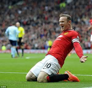 manchester united wayne rooney goal wayne rooney is first premier league player to reach 10m