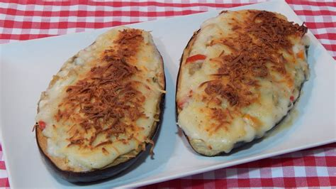 como cocinar berenjenas rellenas c 243 mo hacer berenjenas rellenas de verduras receta f 225 cil