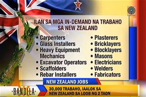 new zealand job new zealand needs 30 000 skilled workers open for