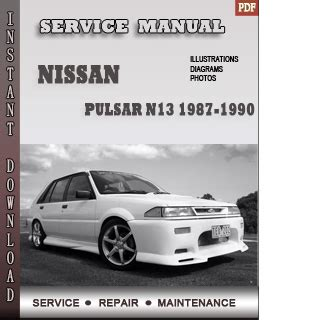 how to download repair manuals 1990 nissan datsun nissan z car electronic valve timing 1987 1990 nissan pulsar n13 service repair manual