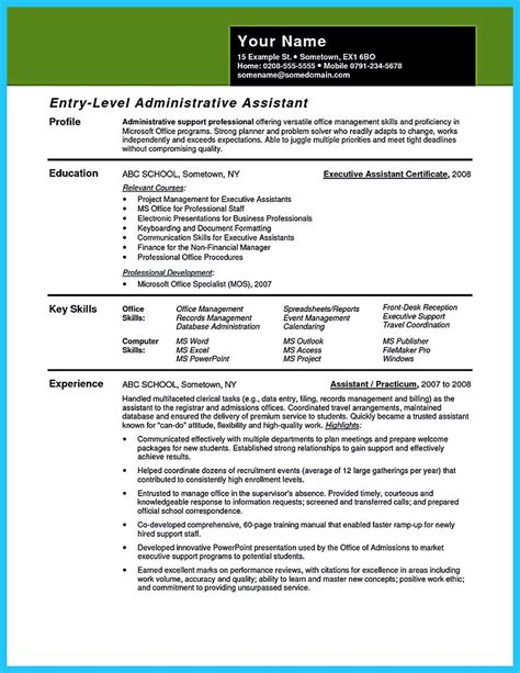 resume template for office assistant writing your assistant resume carefully