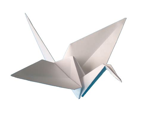 origami of crane mine bangau 鶴 tsuru