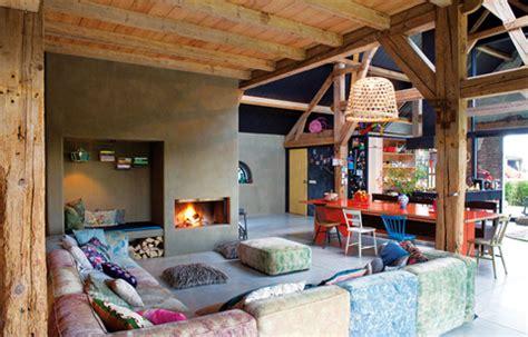 dutch barn renovation  color beautiful interiors