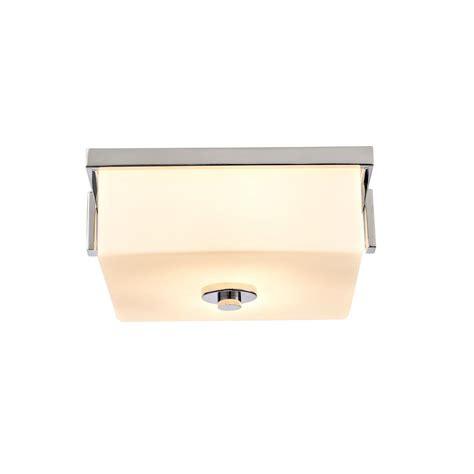 design house karsen design house karsen 2 light polished chrome flushmount