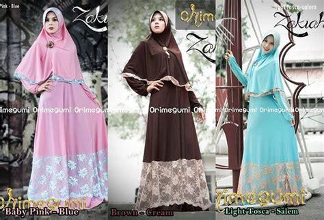Zakiah Syar I baju muslim gaya new collection from orimegumi fashion