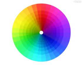 rainbow color wheel color spectrum psdgraphics