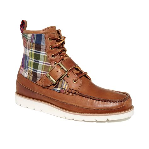 maroon boots ralph saddleworth boots in brown for
