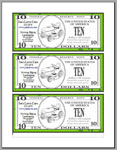 free money templates best photos of free money coupon template dollar