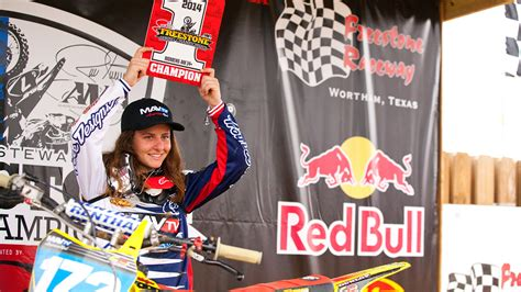 pro motocross riders names the state of women s motocross