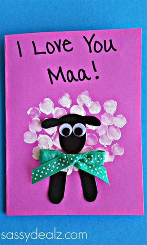 images of love you maa 15 beautiful handmade mother s day cards she will love