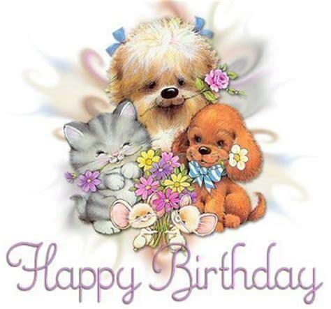 Animals Wishing Happy Birthday Birthday Wishes Cute Animals