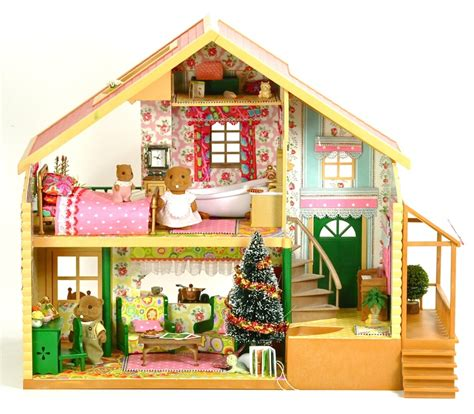 sylvanian dolls house 148 best calico critters and sylvanian families images on pinterest