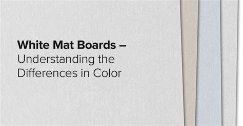 What Is Mat Board by White Mat Boards For Picture Frames Understanding The