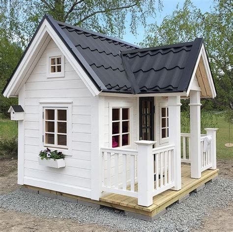 playhouse for backyard 25 best ideas about outdoor playhouses on play houses backyard playhouse and