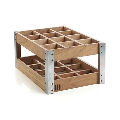 Crate And Barrel Wine Racks wine rack crate and barrel