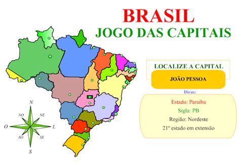 Brasil Jogos De Geografia Jogo De Geografia Brasil Jogo Das