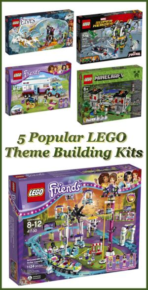 lego themes list 5 popular lego theme building kits dealerydo