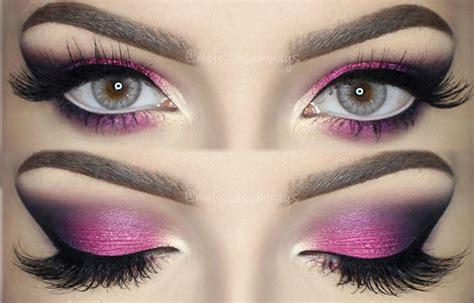 tutorial makeup eyeshadow pink hot pink eyeshadow tutorial www imgkid com the image