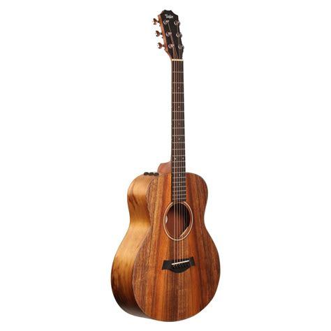 Gs Mini E Acoustic Guitar gs mini e koa electro acoustic guitar box opened at gear4music