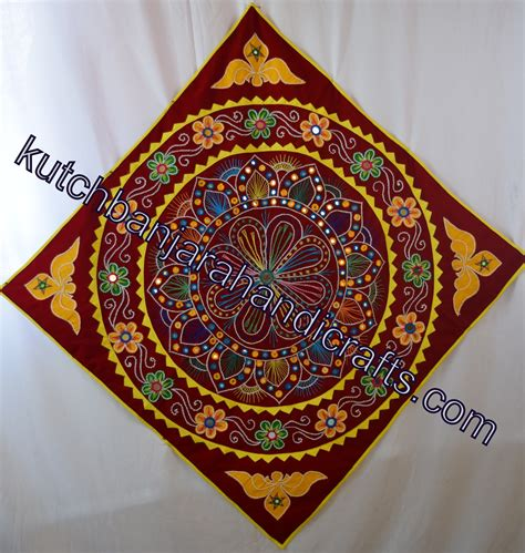 Handmade Lwork - banjara tribal handmade applique work wall hanging 1