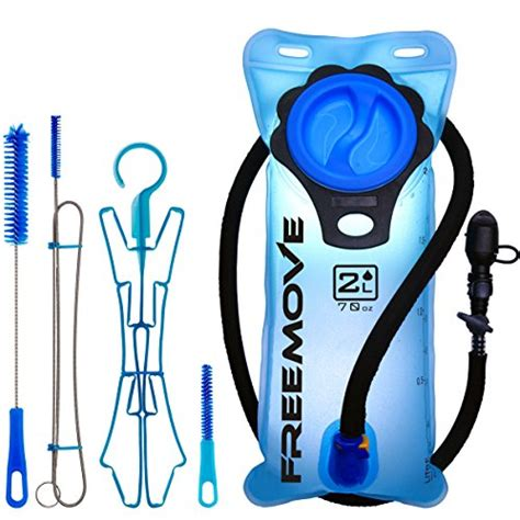 cleaning a hydration bladder hydration pack bladder cleaning kit 4in1 by freemove
