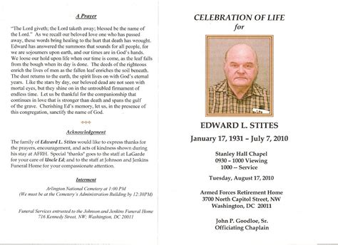 lds funeral program template wording for a memorial donation happy memorial day 2014